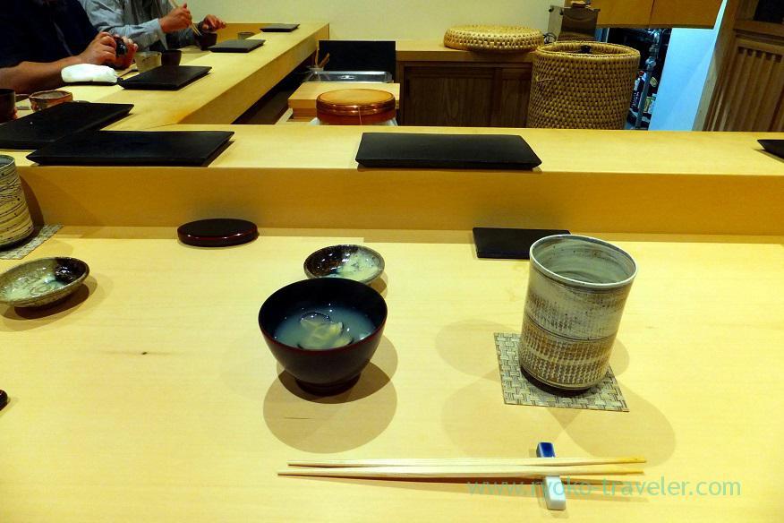 shijimi-clam-soup-sushi-hashimoto-shintomicho