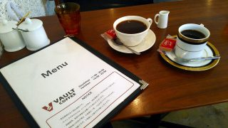 Akihabara : Simple and fascinating cafe named Vault Coffee
