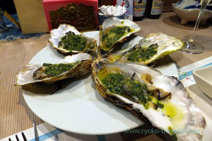 raw-oysters-with-basil-pesto-tamacyano-monzen-nakacho