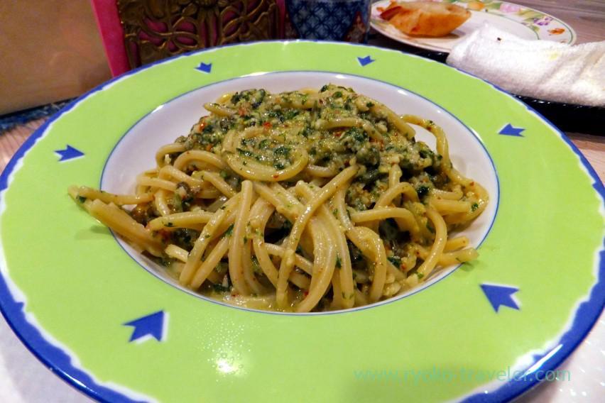 spaghetti-with-basil-pesto-almond-and-caper-sicilia-style-tamacyano-monzen-nakacho