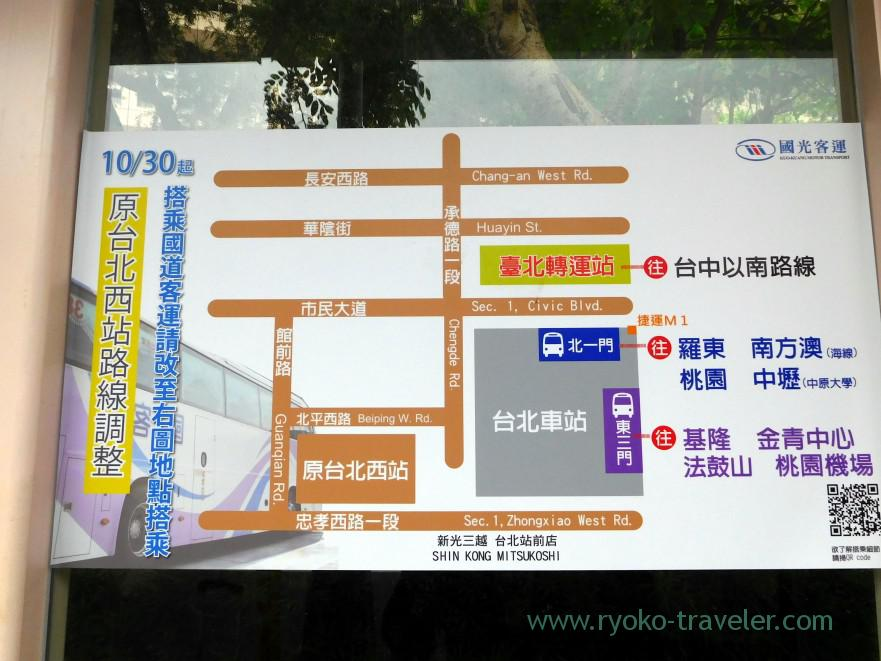 map-kingbus-bus-terminal-taipei-main-station