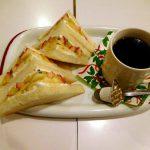 Yotsuya-sanchome : Christmas special and persimmon parfait at Fukunaga (フクナガフルーツパーラー)