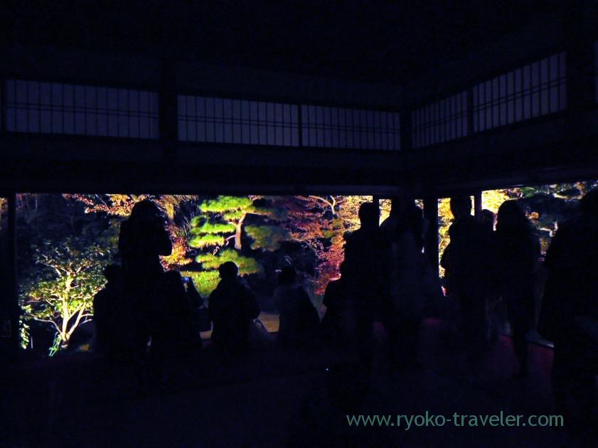 large-number-of-people-tenjyuan-temple-keage