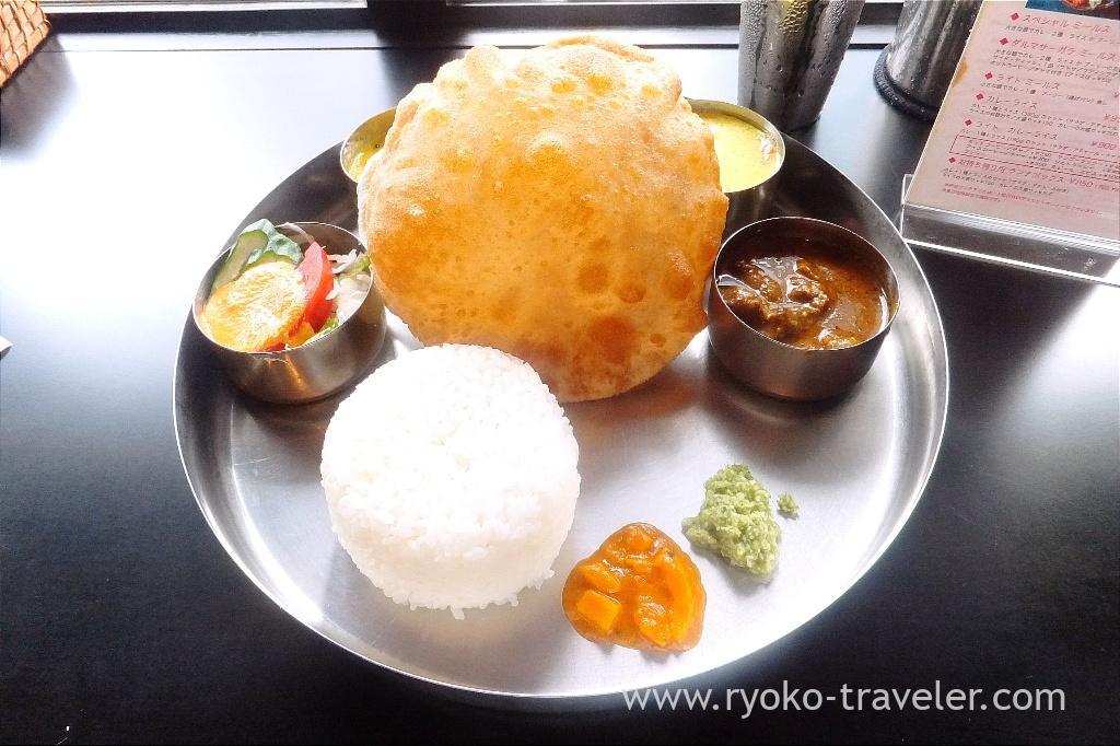 Lunch meals, Dharmasagara (Ginza)