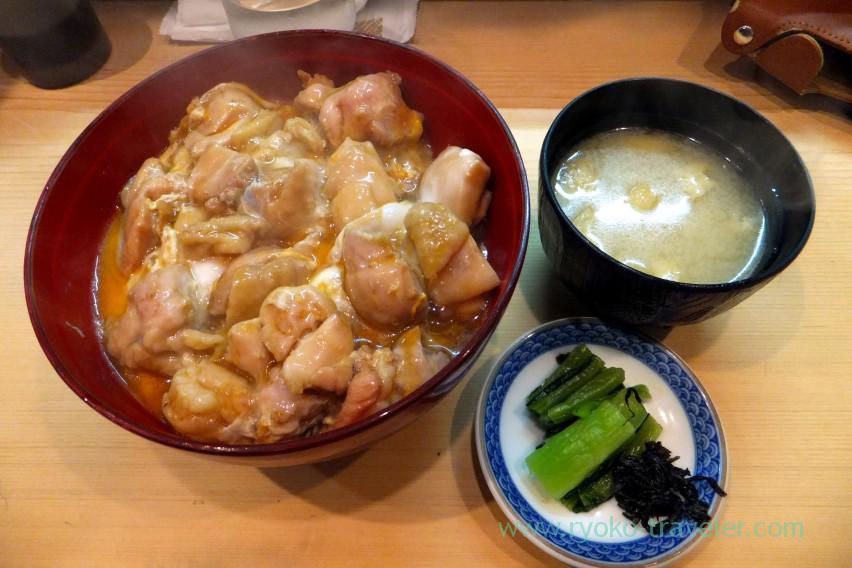 Oyakodon, Toriyaki tatsunoji (Tsukiji)