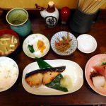 Tsukiji Market : Spanish mackerel Saikyo-yaki set at Kato Shokudou (かとう食堂)