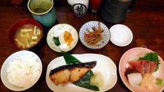 (Moved) Tsukiji Market : Spanish mackerel Saikyo-yaki set at Kato Shokudou (かとう食堂)