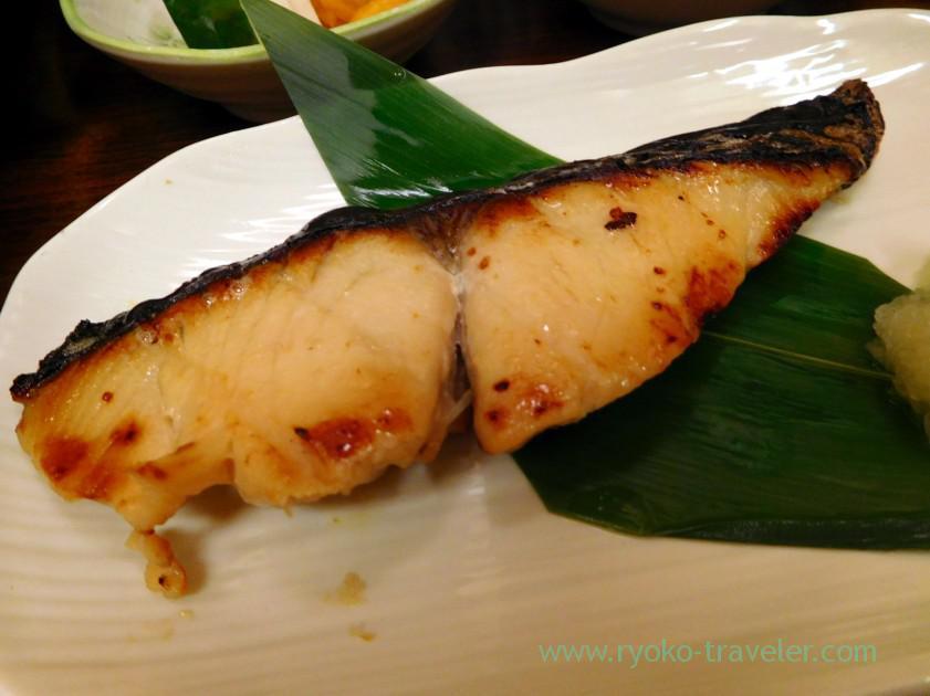 Spanish mackerel Spanish mackerel, Kato Shokudou (Tsukiji)
