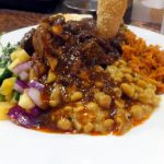 """Dome-mae Chiyozaki : Sri Lankan curry named """"Gamirasa set"""" at Lodda Group (ロッダグループ)"""