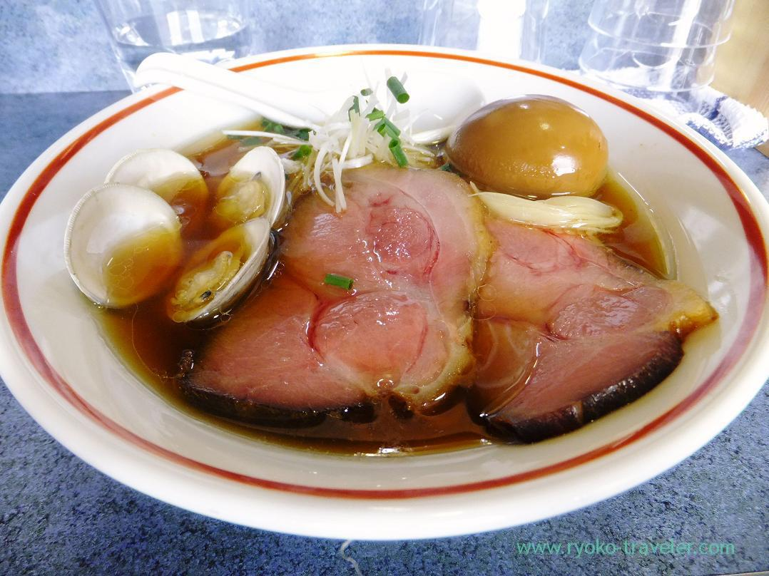 Special Shoyu soba, Tomo-no-moto (Higashinakayama)