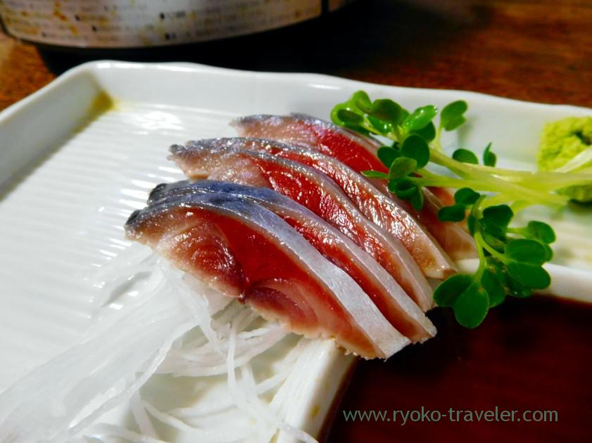 Vinegared mackerel, Toyotaya (Hirai)