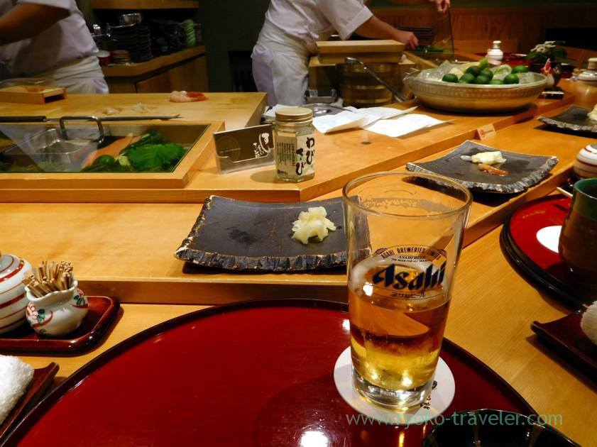 Cooking, Sushi-ya no Saito (Susukino)