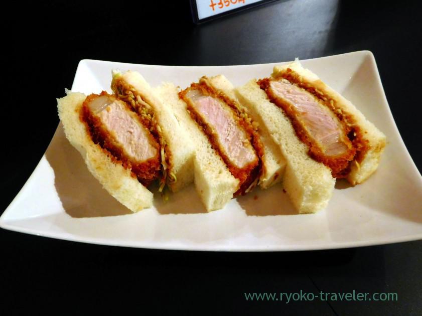 Cutlet sandwich, Odayasu, Tsukiji Uogashi (Tsukiji)