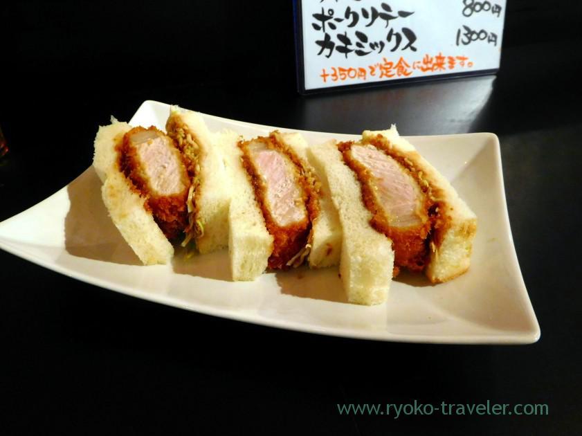 Cutlet sandwich2, Odayasu, Tsukiji Uogashi (Tsukiji)