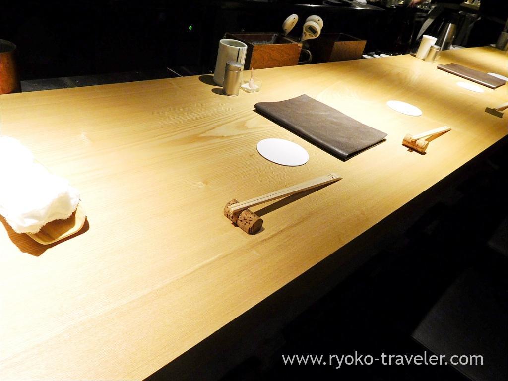 On the table, Yakitori Imai (Omotesando)