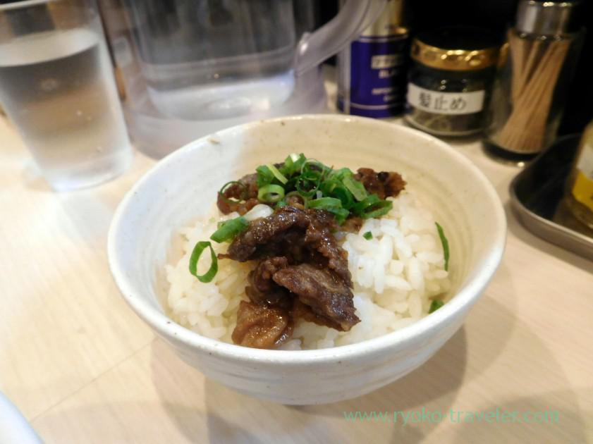 Oymeshi, Gyu-soba Maruha (Funabashi)