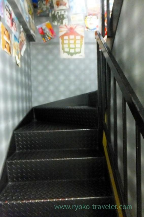 Stairs, Hostel Base Point Osaka (Namba)