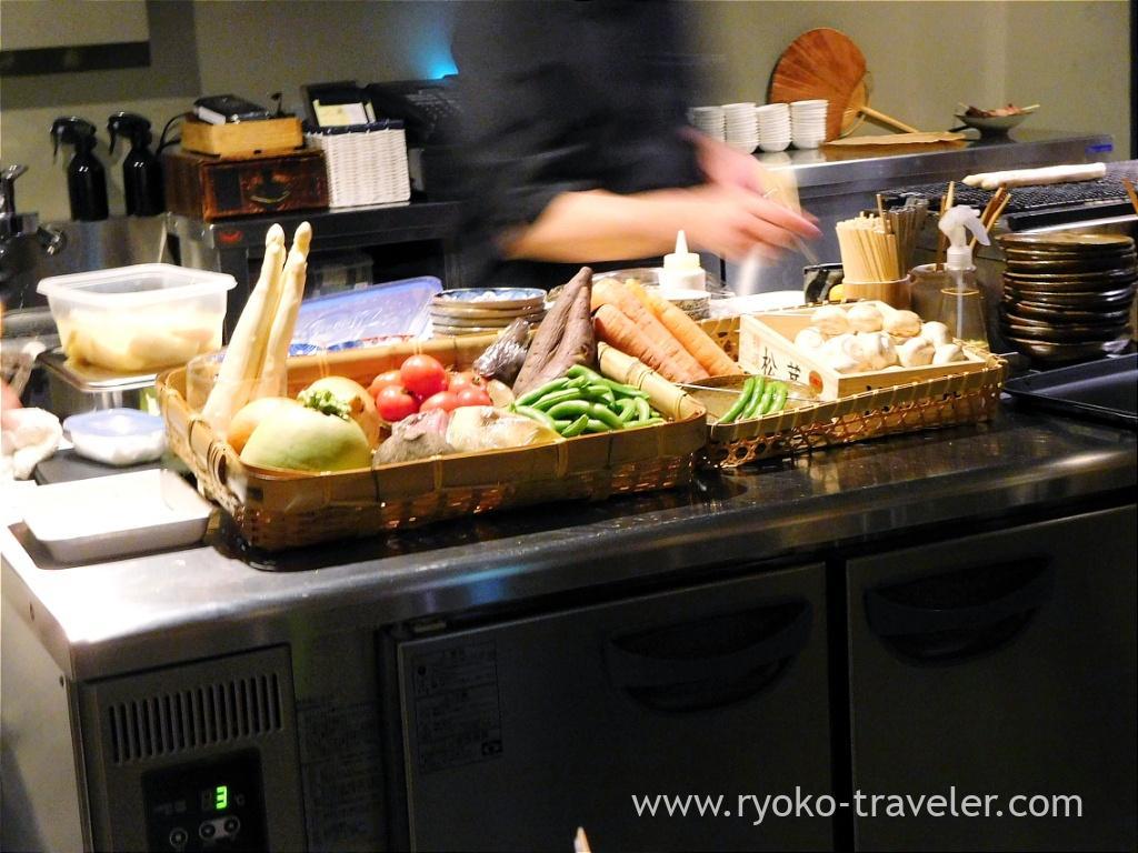 Vegetables, Yakitori Imai (Omotesando)