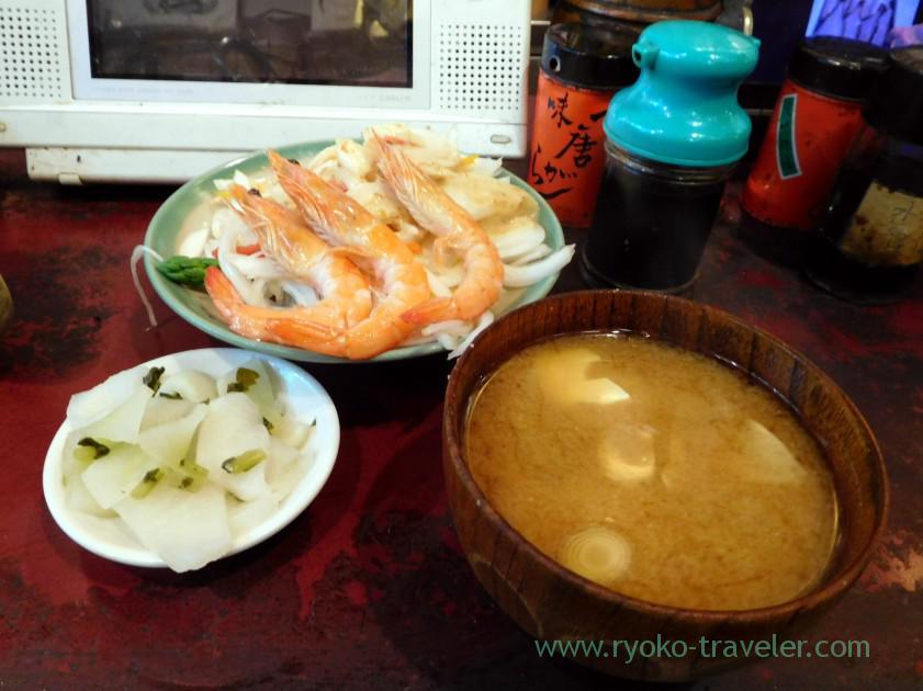Chef's choice except curry, Yonehana (Tsukiji Market)