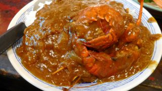Tsukiji Market : Spicy lobster curry at Yonehana (米花)