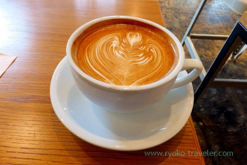 Streamer latte, Streamer Coffee company Kayabacho branch (Kayabacho)