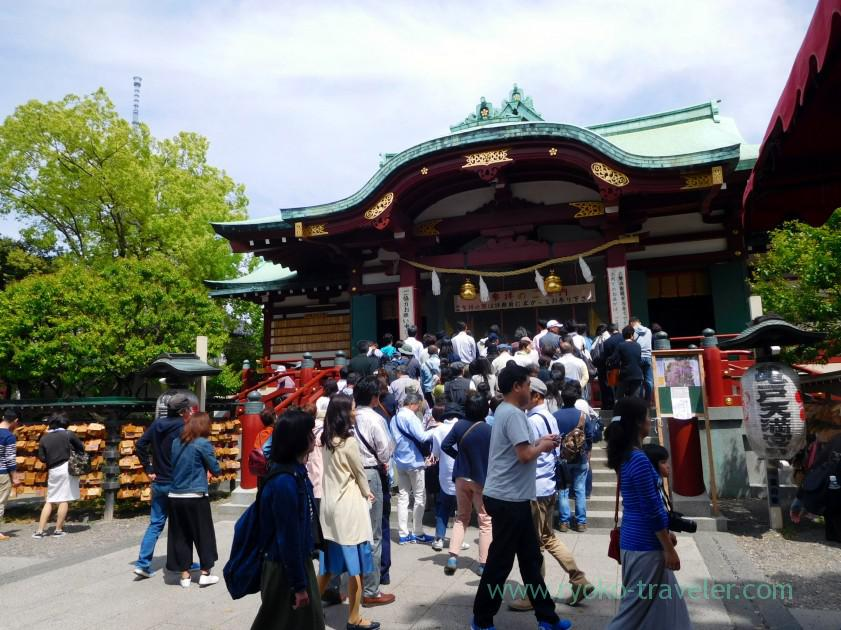 Worship hall, Kameido Tenmangu shrine (Kameido)