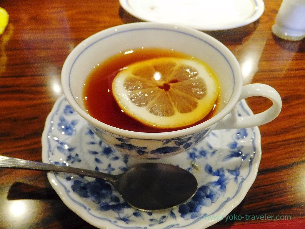 coffee with lemon, Mona lisa (Funabashi)