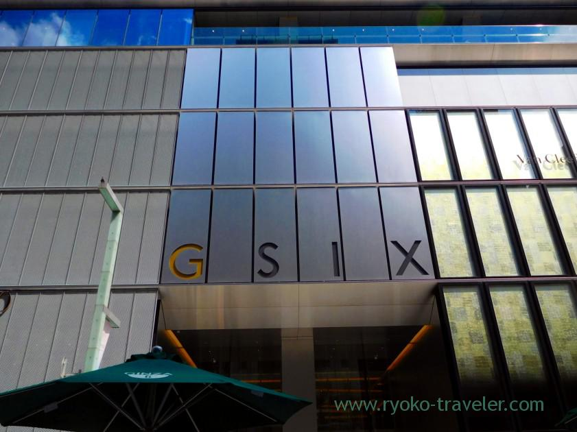 In front of the building, Ginza Six (Ginza)