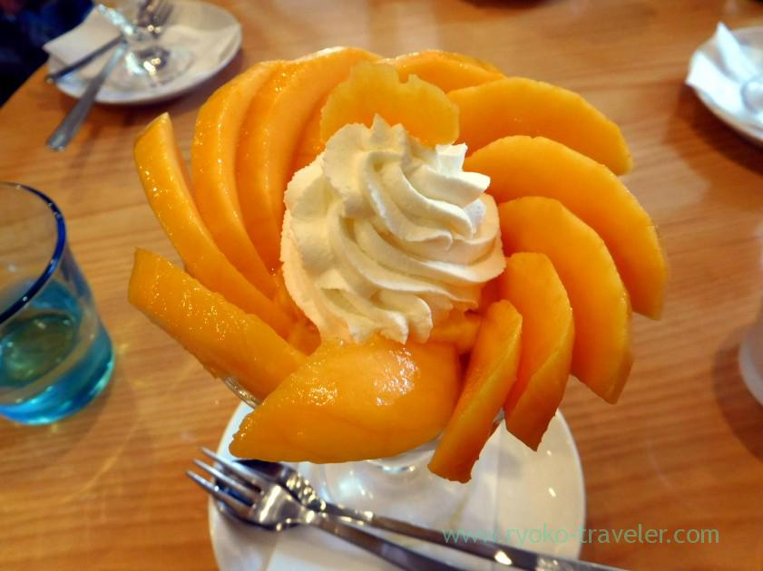 Mango parfait, Fruits Parlor Goto (Asakusa)