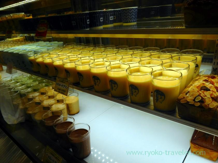 stanrdard custard puddings, Ginza Six (Ginza)
