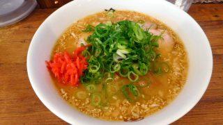 Kinshicho : Cold miso ramen at Ramen Ichizu (らーめん一途)