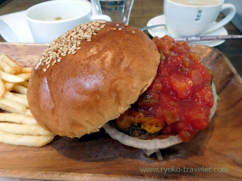 Mexican hamburger, Nijiiro (Kachidoki)