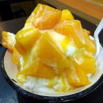 Taipei : Mango shaved snow ice and QQ balls at Gu Zao Wei Tofu Pudding (古早味豆花)