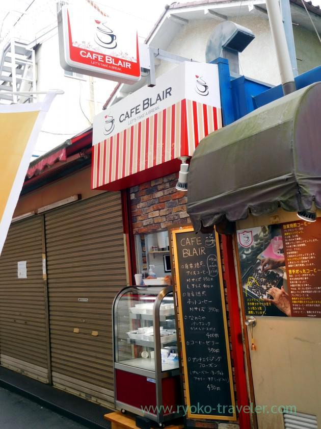 Appearance, Cafe Blair (Motoyawata)