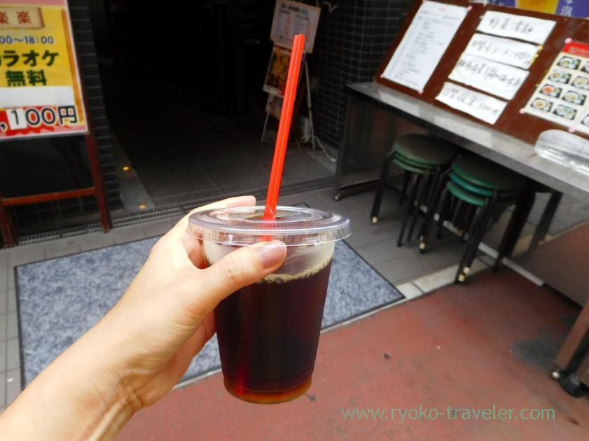 Iced coffee, Cafe Blair (Motoyawata)