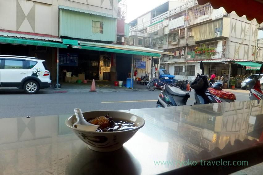 Kaohsiung : Inexpensive shaved ice at QQ Tapioka shaved ice (QQ粉圓冰)