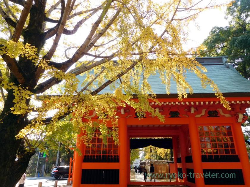 Zuishinmon gate, Katsushika Hachimangu shrine (Motoyawata)