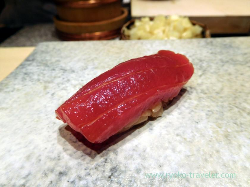 Lean meat of tuna, Sushi Yu (Roppongi)