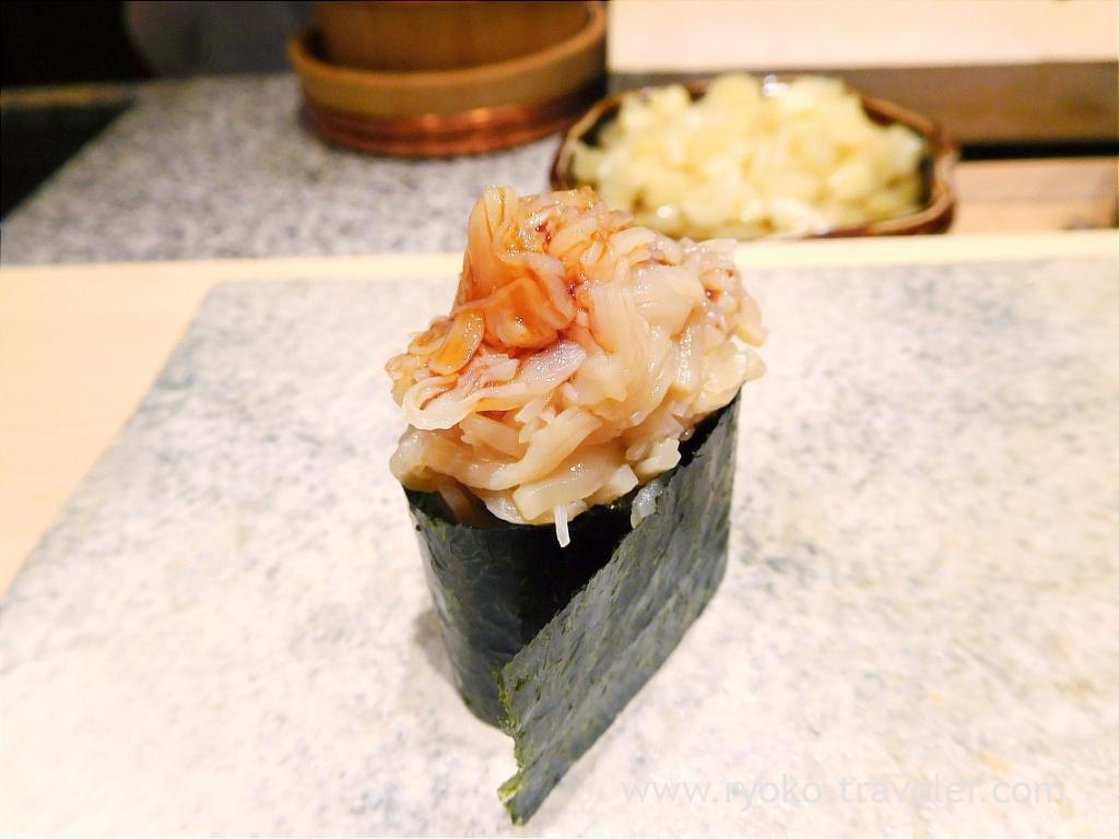 Scallop, Sushi Yu (Roppongi)