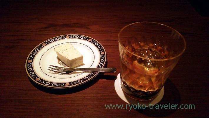 French connection and cheese terrine, bar El Laguito (Yotsuya sanchome)