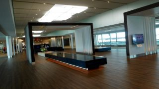 "Narita Airpot : Free ""SKY LOUNGE WA"" on our way to satellite of terminal 2."