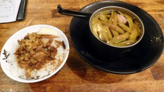 Ximending : Braised pork rice at Ximen Jin Feng (西門金峰魯肉飯)