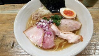Omori : Special sardine ramen at Homemade Ramen Muginae (麦苗)